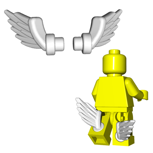 Minifigure Accessory - Boot Wings (Pair)