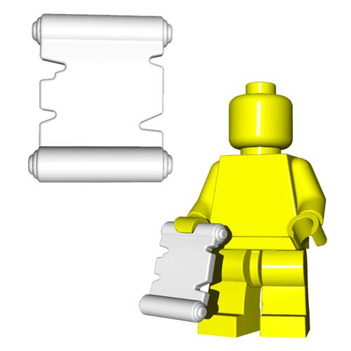 Minifigure Accessory - Scroll