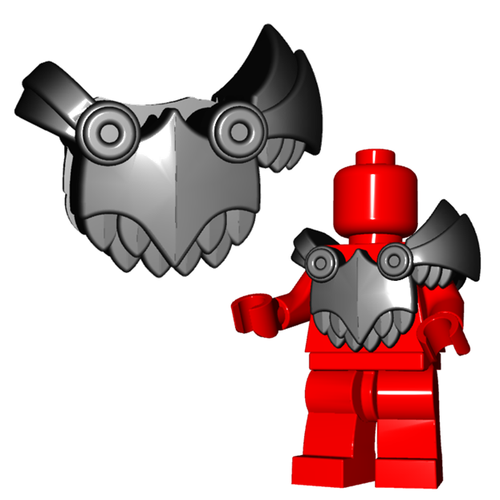 Minifigure Armor - Demon Armor
