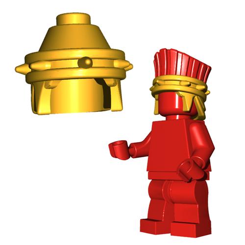Minifigure Helmet - Philistine Helmet