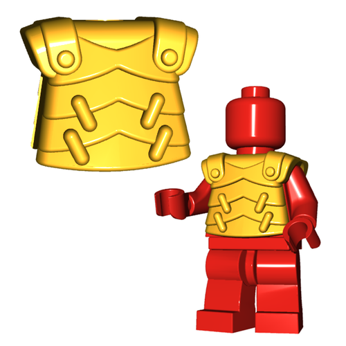Minifigure Armor - Lobster Armor