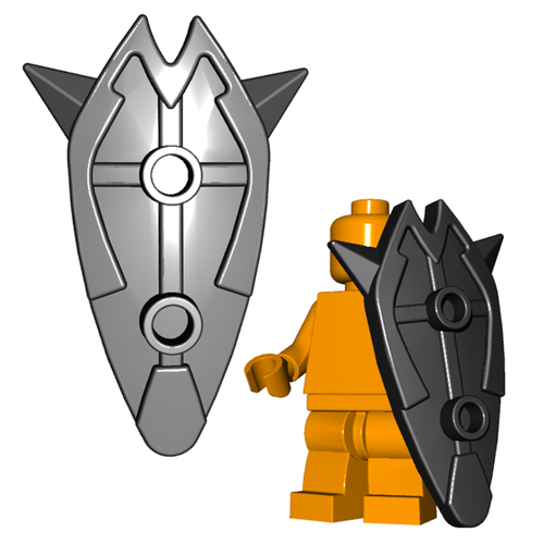 Minifigure Shield - Tower Shield