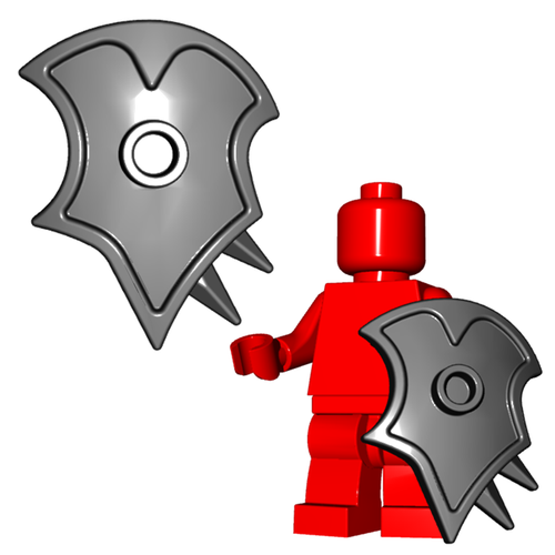 Minifigure Shield - Demon Shield
