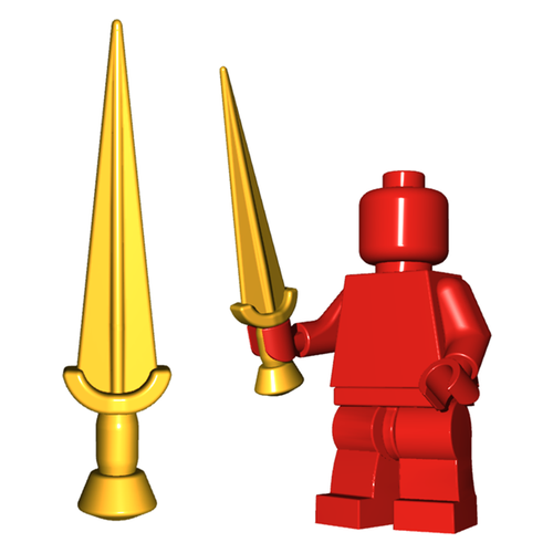 Minifigure Weapon - Nauhe II Sword