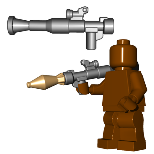 Minifigure Gun - RPG Launcher