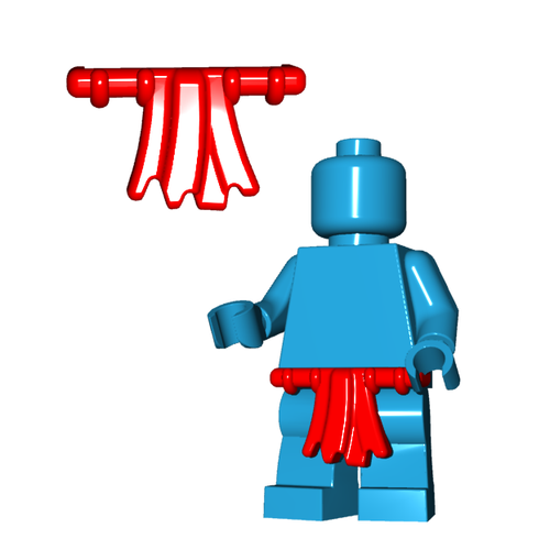 Minifigure Clothing - Loincloth