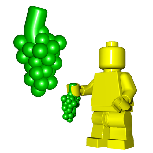 Minifigure Food - Grapes