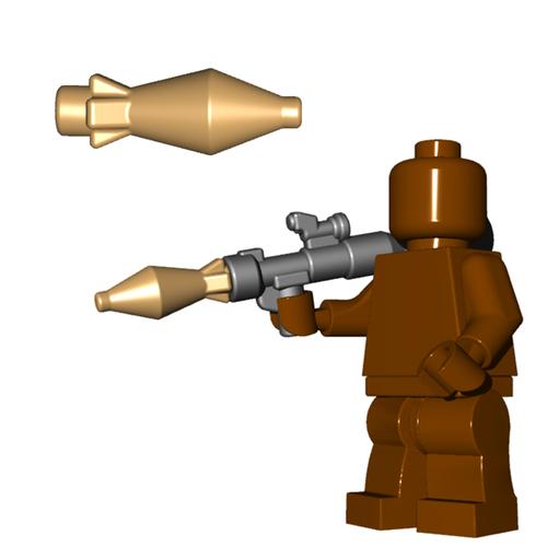 Minifigure Explosive - RPG