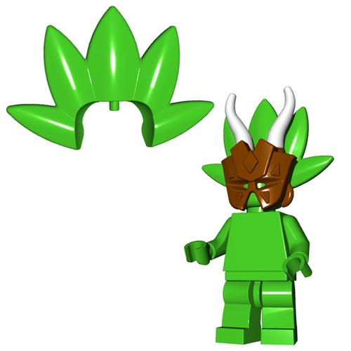 Minifigure Plume - Tribal Plume