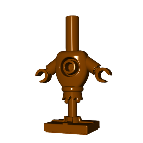Minifigure Accessory - Training Dummy