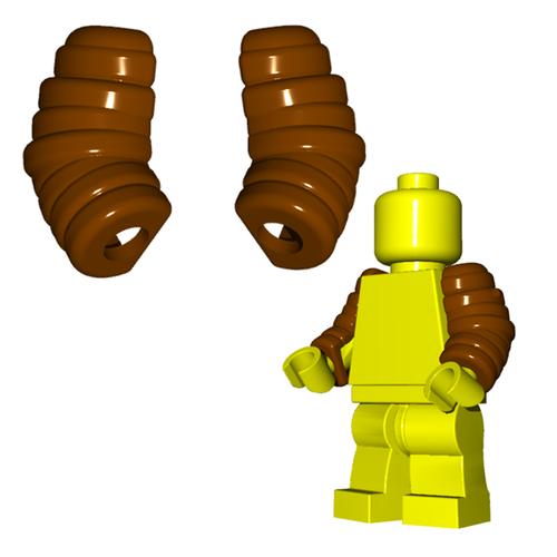 Minifigure Armor - Arm Guards