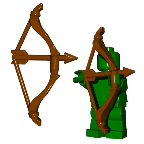 Minifigure Weapon - Scythian Bow