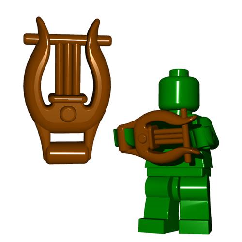 Minifigure Instrument - Lyre
