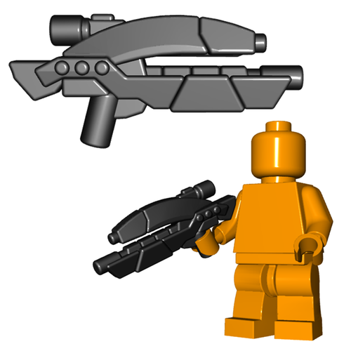 Minifigure Gun - Vengeance Assault Rifle