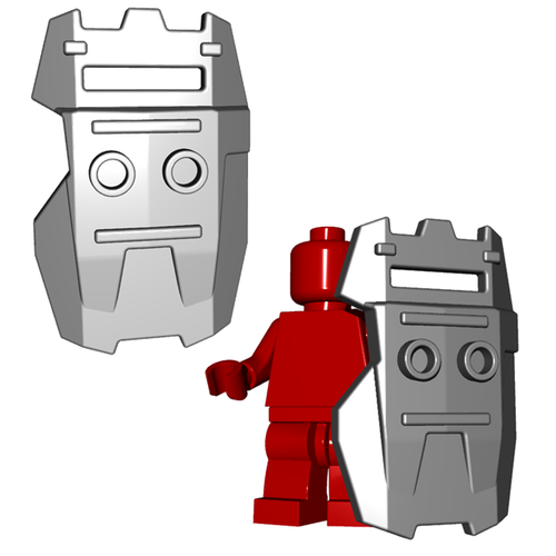 Minifigure Shield - Riot Shield