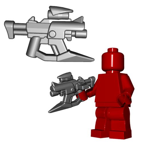 Minifigure Gun - Skewer SMG