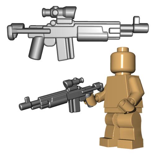 Minifigure Gun - Enhanced Warrior Rifle