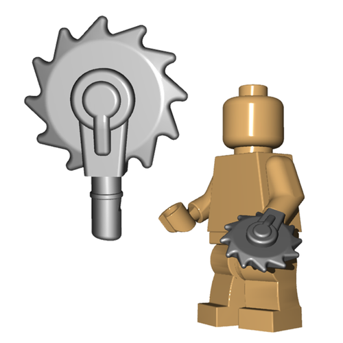 Minifigure Weapon - Buzzsaw Hand