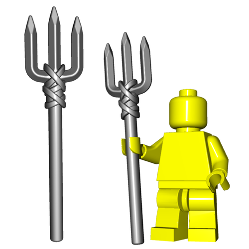 Minifigure Weapon - Trident