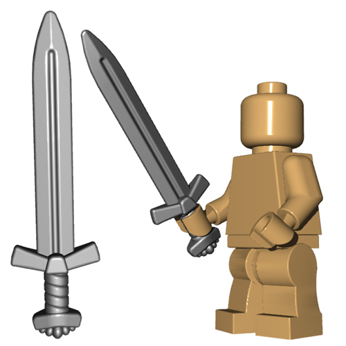 Minifigure Weapon - Viking Longsword