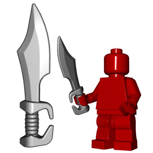 Minifigure Weapon - Spartan Sword