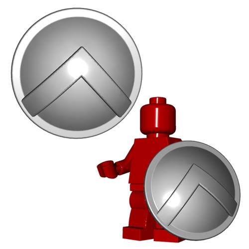 Minifigure Shield - Spartan Shield
