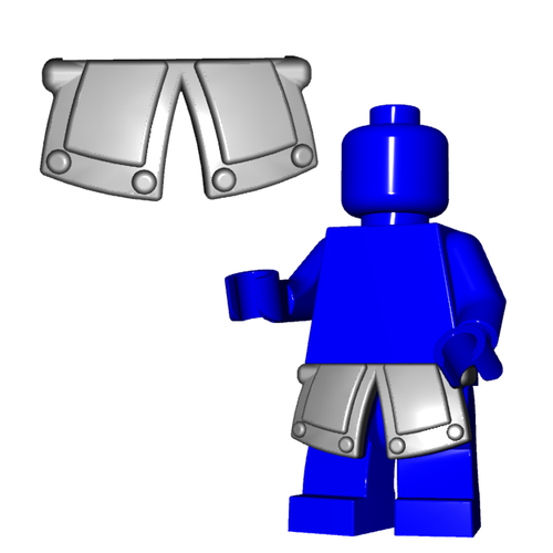 Minifigure Armor - City Watch Tassets