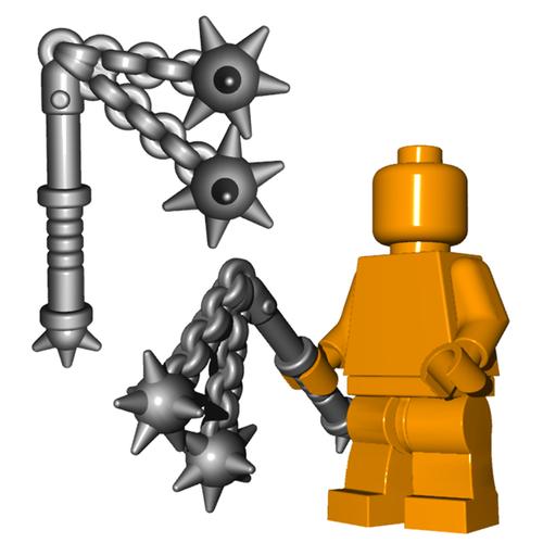 Minifigure Weapon - Double Flail
