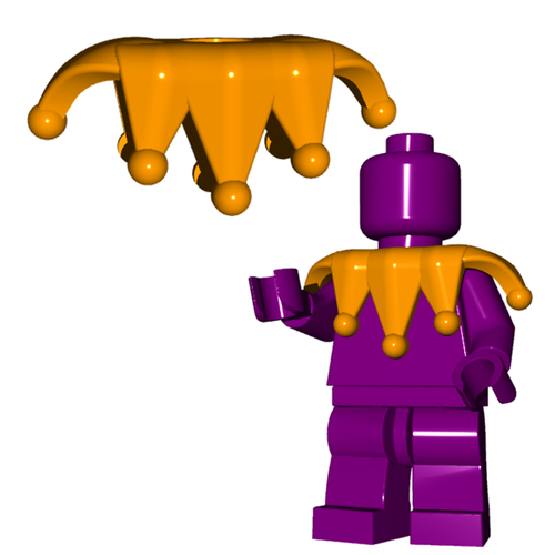 Minifigure Clothing - Jester Collar