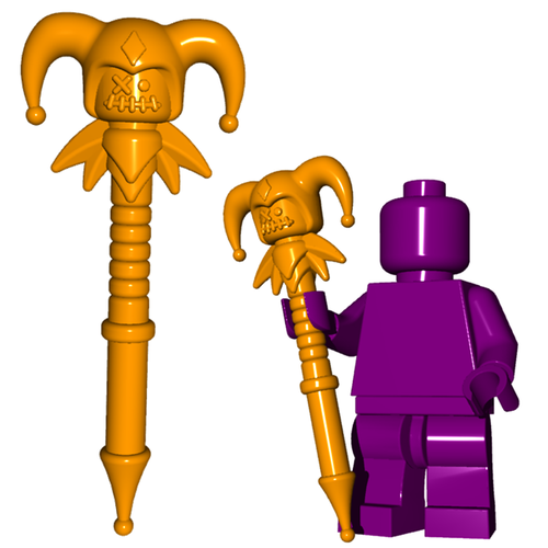 Minifigure Weapons - Jester Staff
