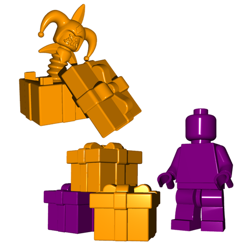 Minifigure Trap - Death in the Box