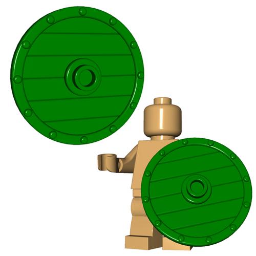 Minifigure Shield - Viking Shield