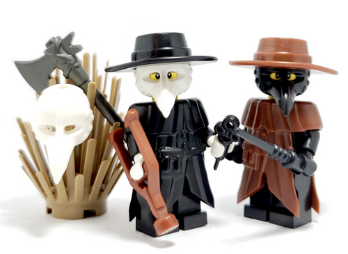Plauge doctor coat for Lego Minifigures accessories