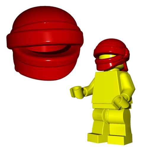 Minifigure Helmet - Head Wrap