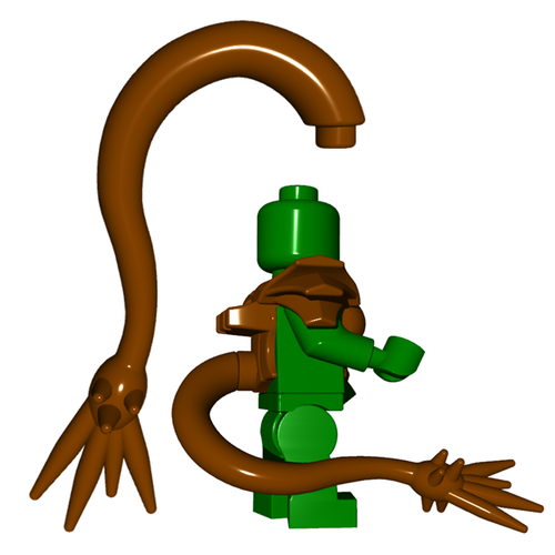 Minifigure Tail - Barbed Tail