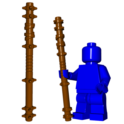 Minifigure Weapon - Quarterstaff