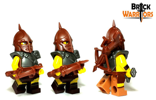 Rambo Figure Custom Lego Minifigures w// Crossbow Accessory Brand New!!