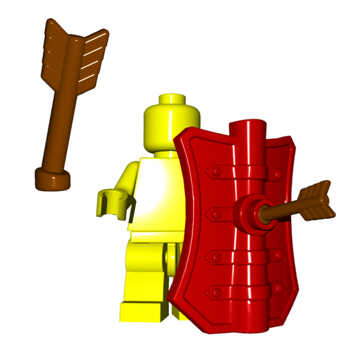 Minifigure Accessory - Arrow Half