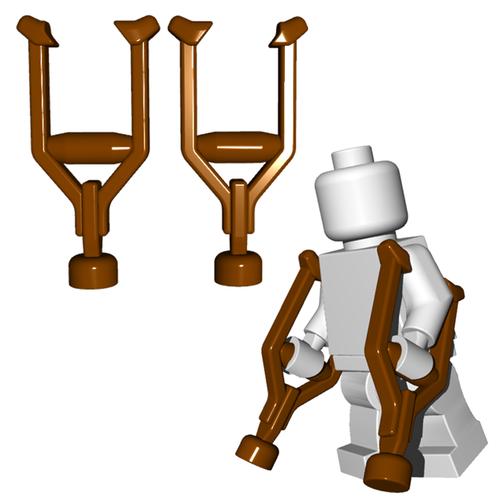 Minifigure Accessory - Crutches