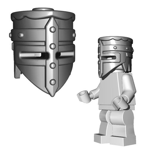 Minifigure Helmet - Crusader Helm