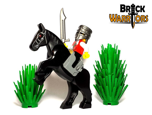 Lego Medieval Helmet Castle Knight Soldier crusader helm brickwarriors minifig