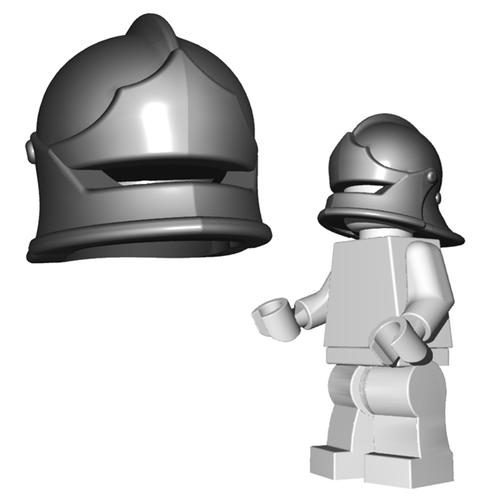 Minifigure Helmet - Sallet