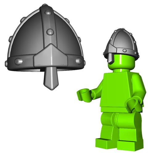 Minifigure Helmet - Nasal Helm