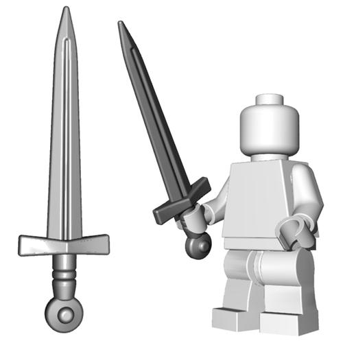 Minifigure Sword - Arming Sword
