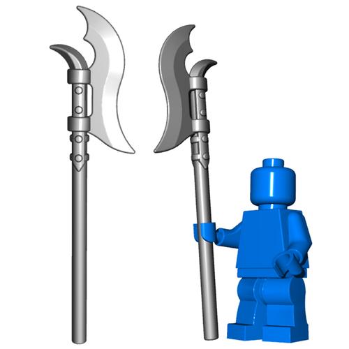 Minifigure Weapon - Voulge