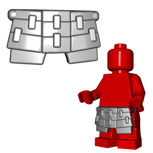 Minifigure Armor - Samurai Kusazuri