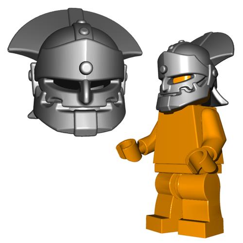 Minifigure Helmet - Orc Helmet