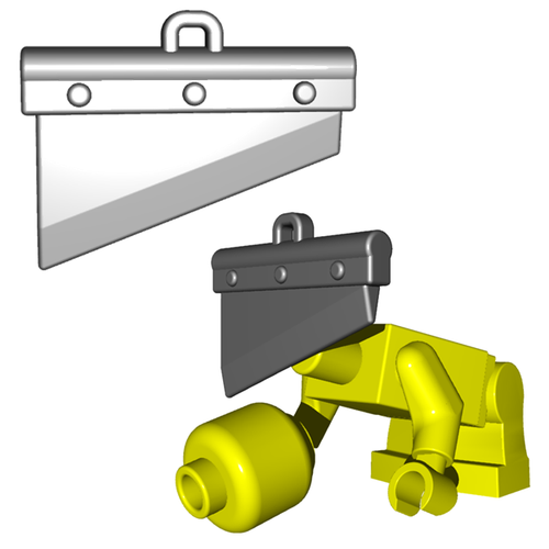 Minifigure Weapon - Guillotine Blade