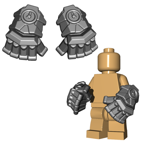 Minifigure Weapon - Powerfists