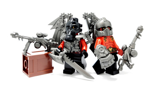 Power-fists for Lego Minifigures accessories